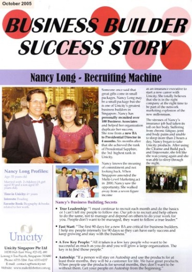 Nancy Long SG - The Recruiting Machine