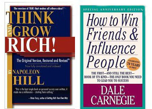 Book - Think & Grow Rich - Napolean Hill / How to Win Friends and Influence People - Dale Carnegie