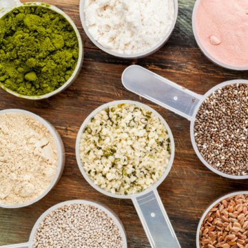 Best Protein Powders - animal and plant