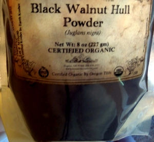 Natural Hair Color Treatments - black walnut hull