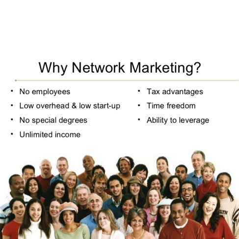 Image ADVANTAGES / BENEFITS OF NETWORK MARKETING?