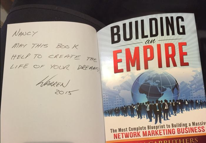 Building an Empire | Brian Carruthers - an mlm / direct sales / network marketing success book