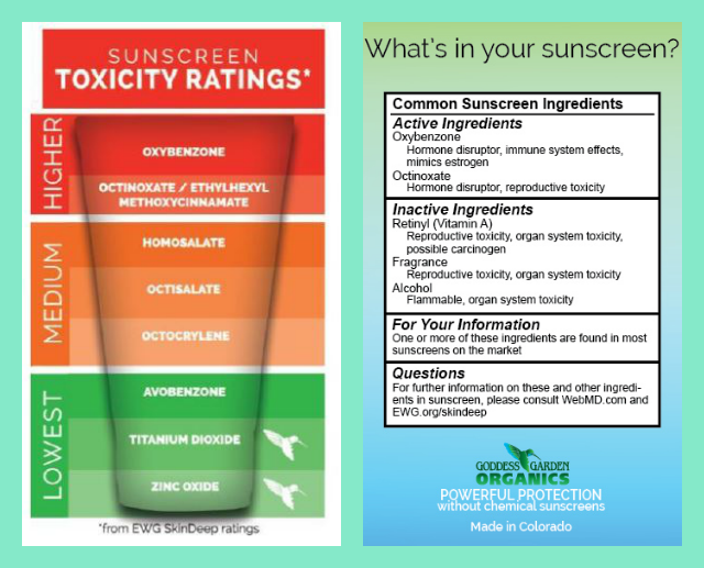non-toxic sunscreen-ingredients